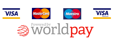 Payments powered by WorldPay.